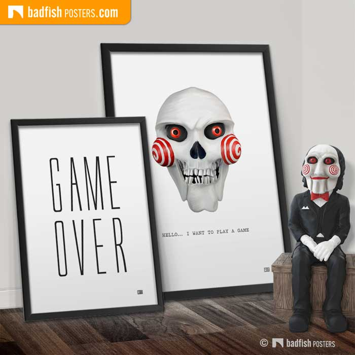 Billy The Puppet | Saw | Poster Blog