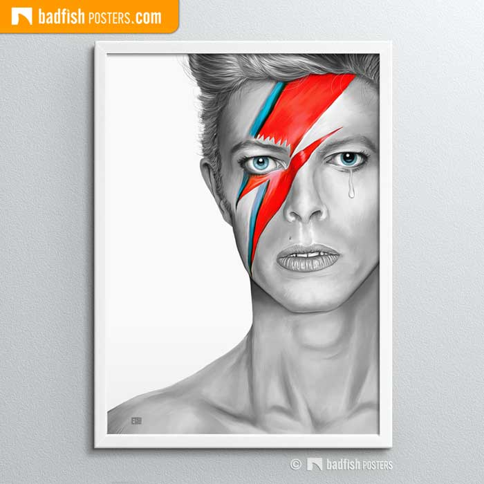 David Bowie | Aladdin Sane | Poster Blog