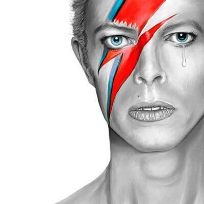 David Bowie | Aladdin Sane | Poster | Vertical