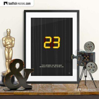 23 - Twenty-Three | Movie Art Poster | © BadFishPosters.com