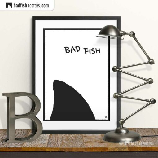 Bad Fish | Comic Style Poster | © BadFishPosters.com