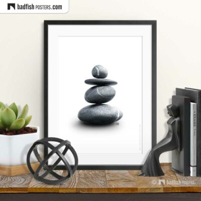 Balance | Photo Art Poster | © BadFishPosters.com