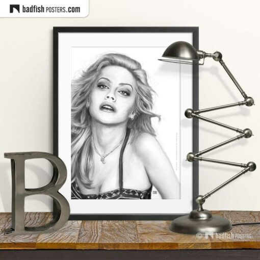 Brittany Murphy | Art Poster | © BadFishPosters.com