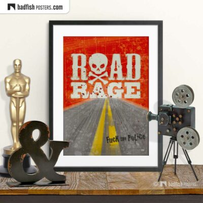 Mad Max | Road Rage | Movie Art Poster | © BadFishPosters.com