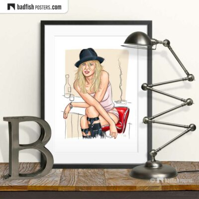 Naomi Watts | Art Poster | © BadFishPosters.com