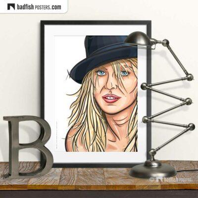 Naomi Watts | Portrait | Art Poster | © BadFishPosters.com