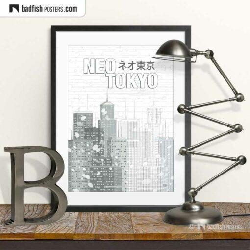 Neo Tokyo | Movie Art Poster | © BadFishPosters.com