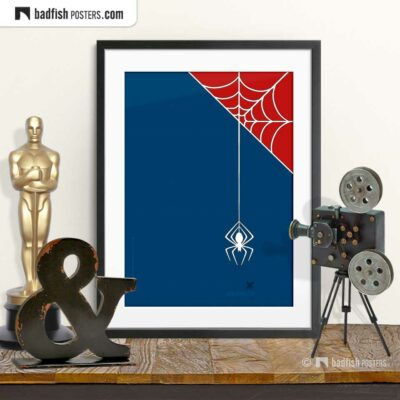 Spiderman | Itsy Bitsy Spider | Movie Art Poster | © BadFishPosters.com