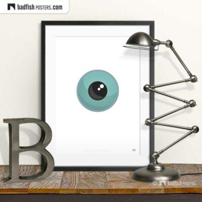 The Eye | Orwellian Graphic Poster | © BadFishPosters.com