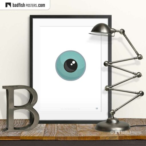The Eye | Orwellian Graphic Poster | © BadFishPosters.com