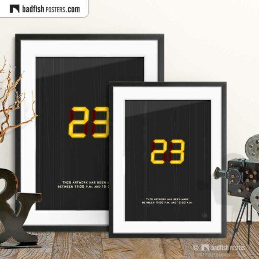 23 - Twenty-Three | Movie Art Poster | Gallery Image | © BadFishPosters.com