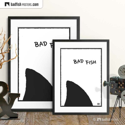 Bad Fish | Comic Style Poster | Gallery Image | © BadFishPosters.com