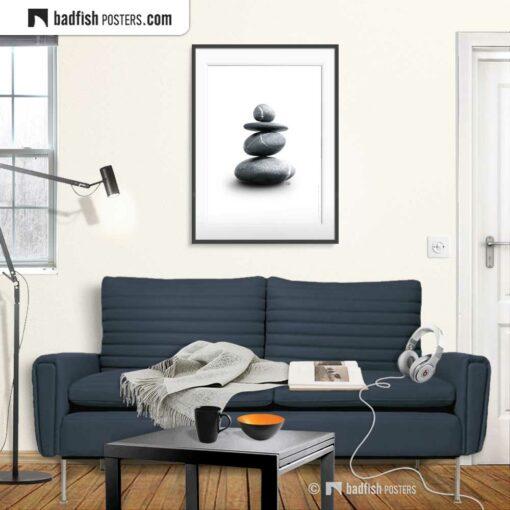Balance | Photo Art Poster | Gallery Image | © BadFishPosters.com