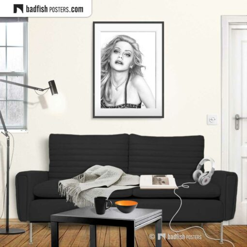 Brittany Murphy | Art Poster | Gallery Image | © BadFishPosters.com