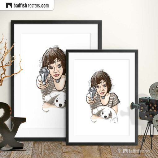 Leon - The Professional | Mathilda | Movie Art Poster | Gallery Image | © BadFishPosters.com