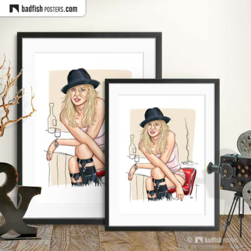 Naomi Watts | Art Poster | Gallery Image | © BadFishPosters.com