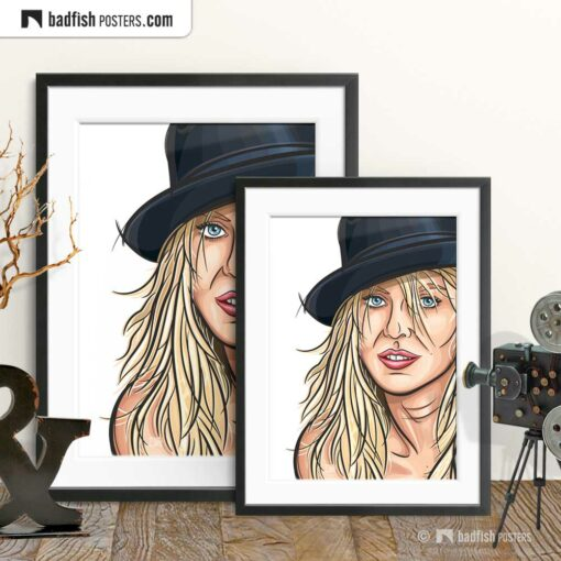 Naomi Watts | Portrait | Art Poster | Gallery Image | © BadFishPosters.com
