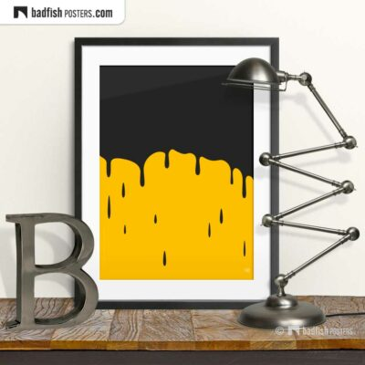 Oil | Graphic Poster | © BadFishPosters.com