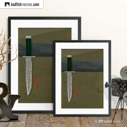 Rambo - First Blood | Movie Art Poster | Gallery Image | © BadFishPosters.com
