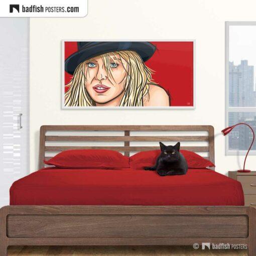 Sensual Naomi Watts | XL Art Poster | © BadFishPosters.com