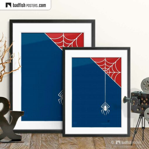 Spiderman | Itsy Bitsy Spider | Movie Art Poster | Gallery Image | © BadFishPosters.com
