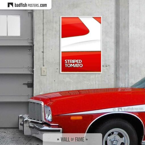 Starsky and Hutch | Striped Tomato | Movie Art Poster | Gallery Image | © BadFishPosters.com
