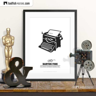 Barton Fink | Minimal Movie Poster | © BadFishPosters.com