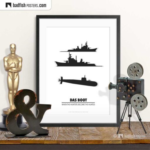 Das Boot | Minimal Movie Poster | © BadFishPosters.com