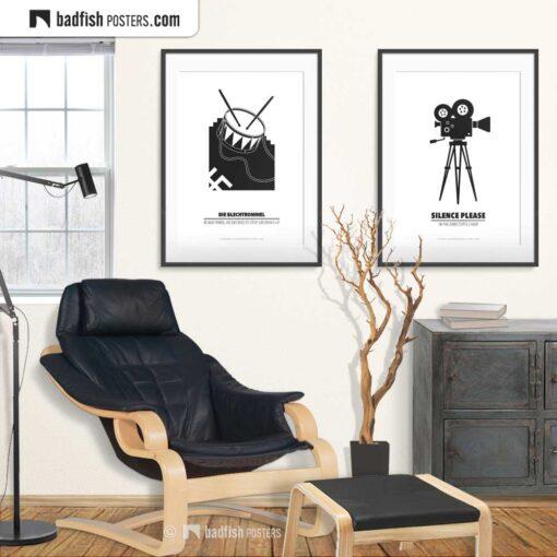 Die Blechtrommel   Minimal Movie Poster   Gallery Image   © BadFishPosters.com