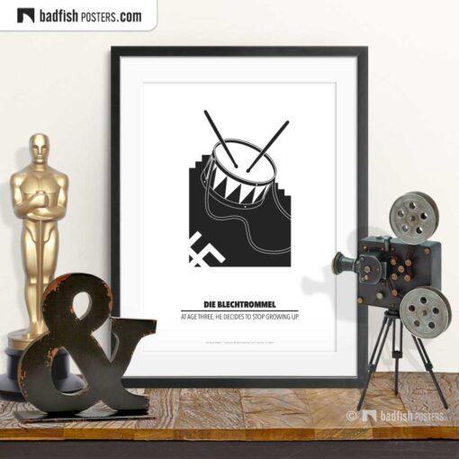 Die Blechtrommel   Minimal Movie Poster   © BadFishPosters.com