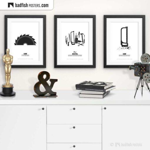 Hostel | Minimal Movie Poster | Gallery Image | © BadFishPosters.com