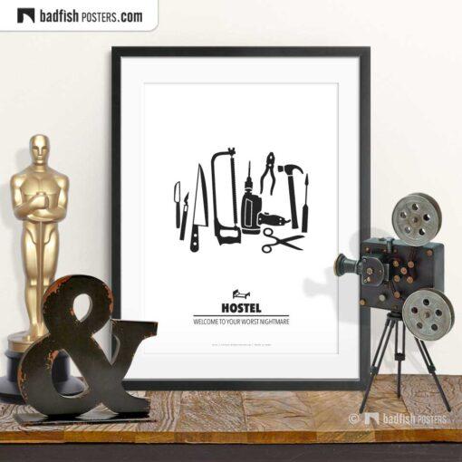 Hostel | Minimal Movie Poster | © BadFishPosters.com