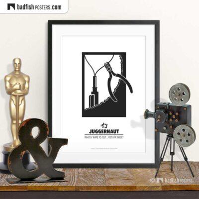 Juggernaut | Minimal Movie Poster | © BadFishPosters.com