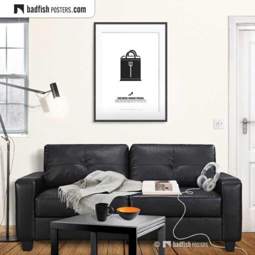 The Devil Wears Prada | Minimal Movie Poster | Gallery Image | © BadFishPosters.com